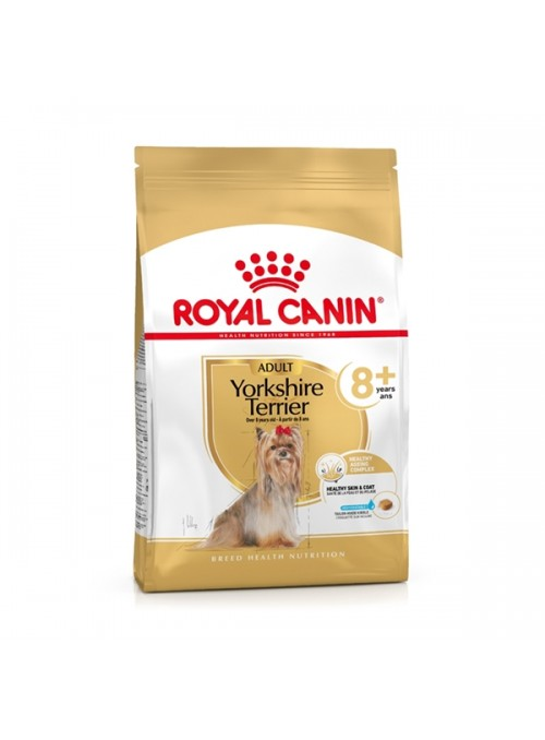 ROYAL CANIN YORKSHIRE TERRIER 8+ - 1.5kg - RCYORKST8