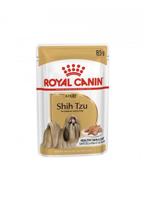 ROYAL CANIN SHIH TZU ADULT | SAQUETA - 85gr - RC1258000