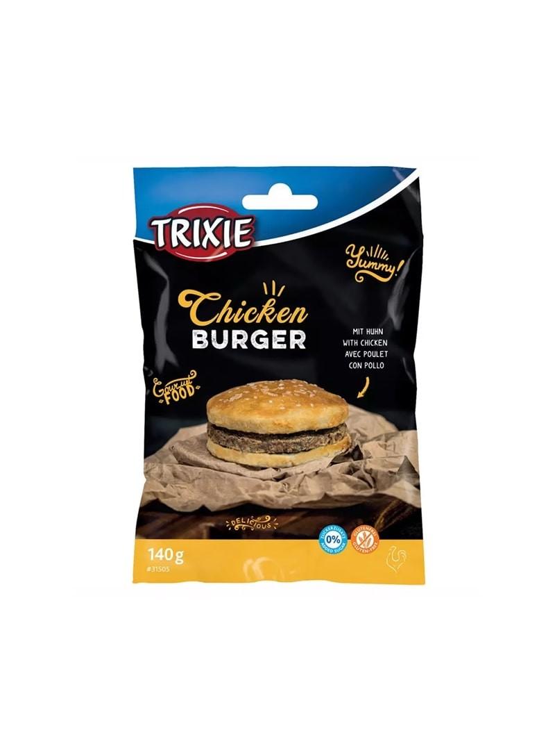 TRIXIE CHICKEN BURGER - 140gr - TX31505