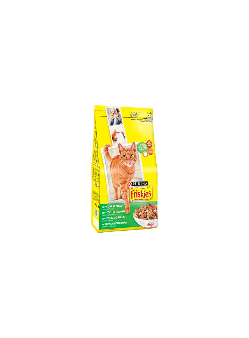 Friskies Gato Adult | Coelho, Frango & Legumes-R00000330