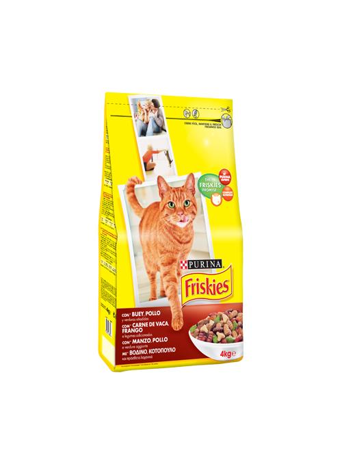 Friskies Gato Adult | Vaca, Frango & Legumes