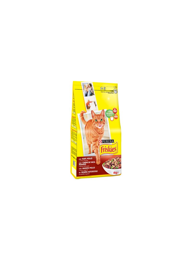 Friskies Gato Adult | Vaca, Frango & Legumes-F12219344