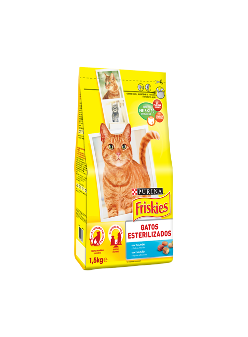Friskies Gato Adult Sterilised | Salmão-F12211797