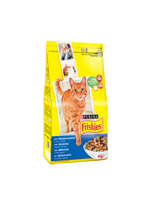 Friskies Gato Adult | Bacalhau & Legumes