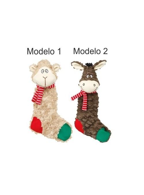 Brinquedo de Natal em Peluche (Burro/Macaco)