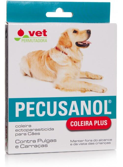 Pecusanol coleira plus para cães-PECUSCC