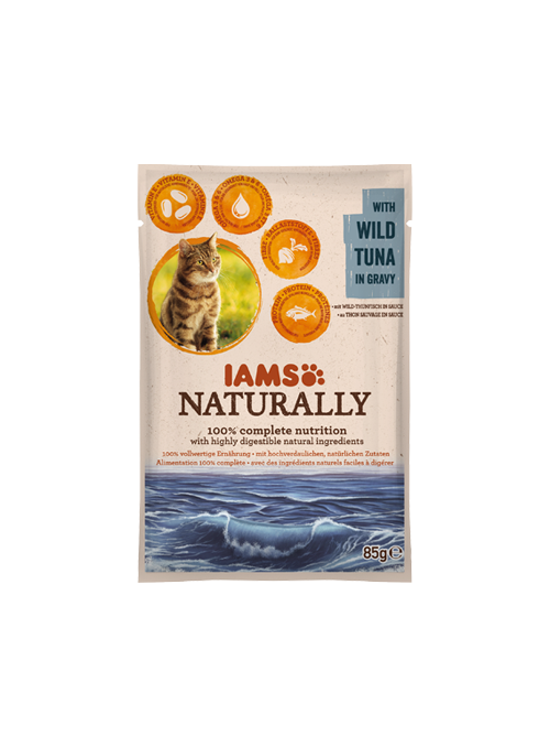 IAMS Naturally Adult Cat Tuna-I1450259
