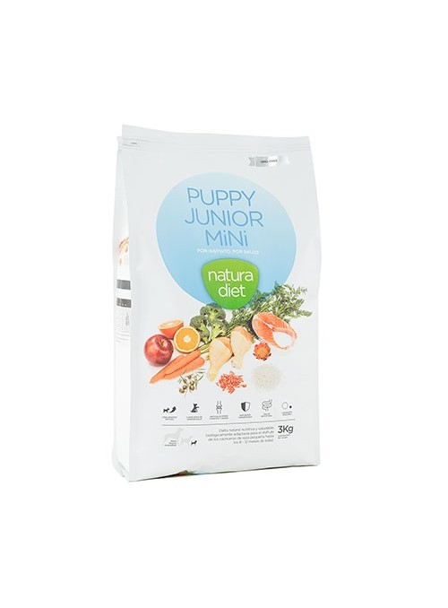 Natura Diet Puppy & Junior Mini-NDDF120