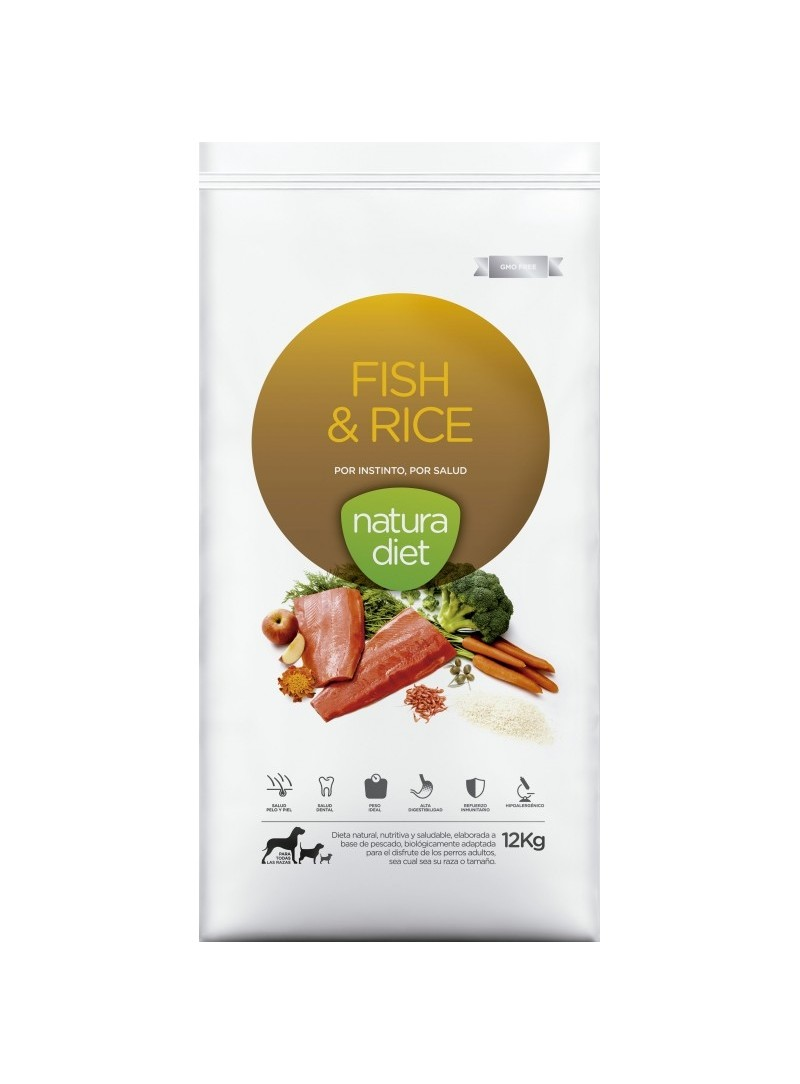 Natura Diet Fish & Rice-NDDF134