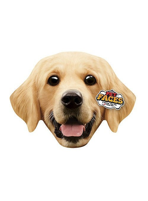 Pet Faces Pillows - Golden Retriever-PETFAC011
