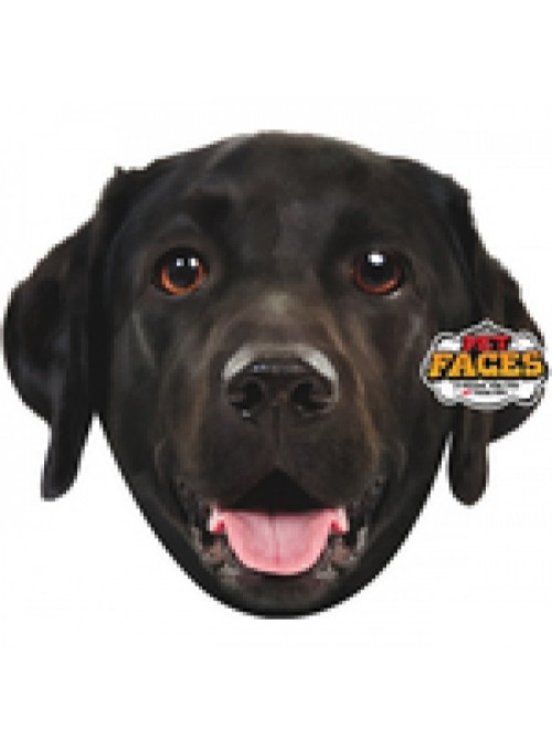 Pet Faces Pillows - Black Labrador