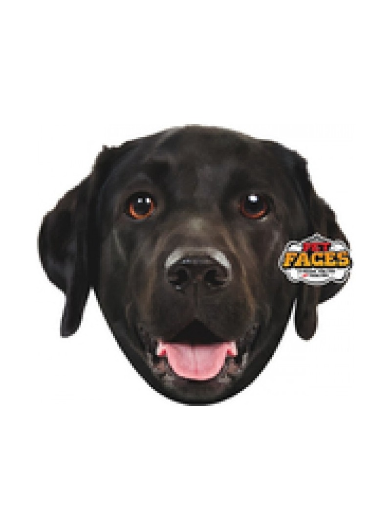 Pet Faces Pillows - Black Labrador-PETFAC018