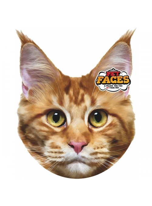 Pet Faces Pillows - Maine Coon Cat-PETFAC022