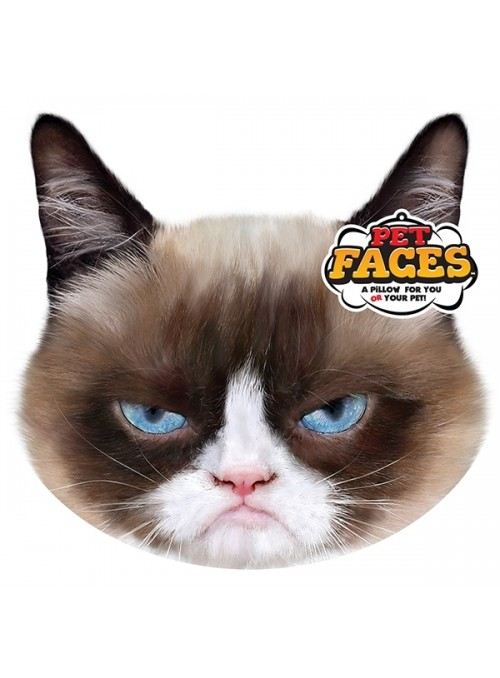 Pet Faces Pillows - Grumpy Cat-PETFAC025