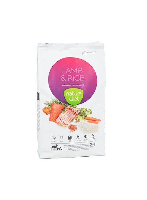 Natura Diet Lamb & Rice-NDDF129