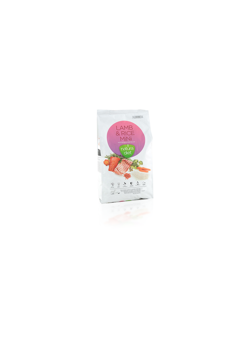 Natura Diet Lamb & Rice Mini-NDDF132
