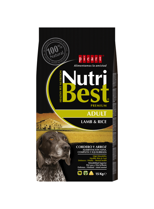 Picart Nutribest Lamb & Rice Canine