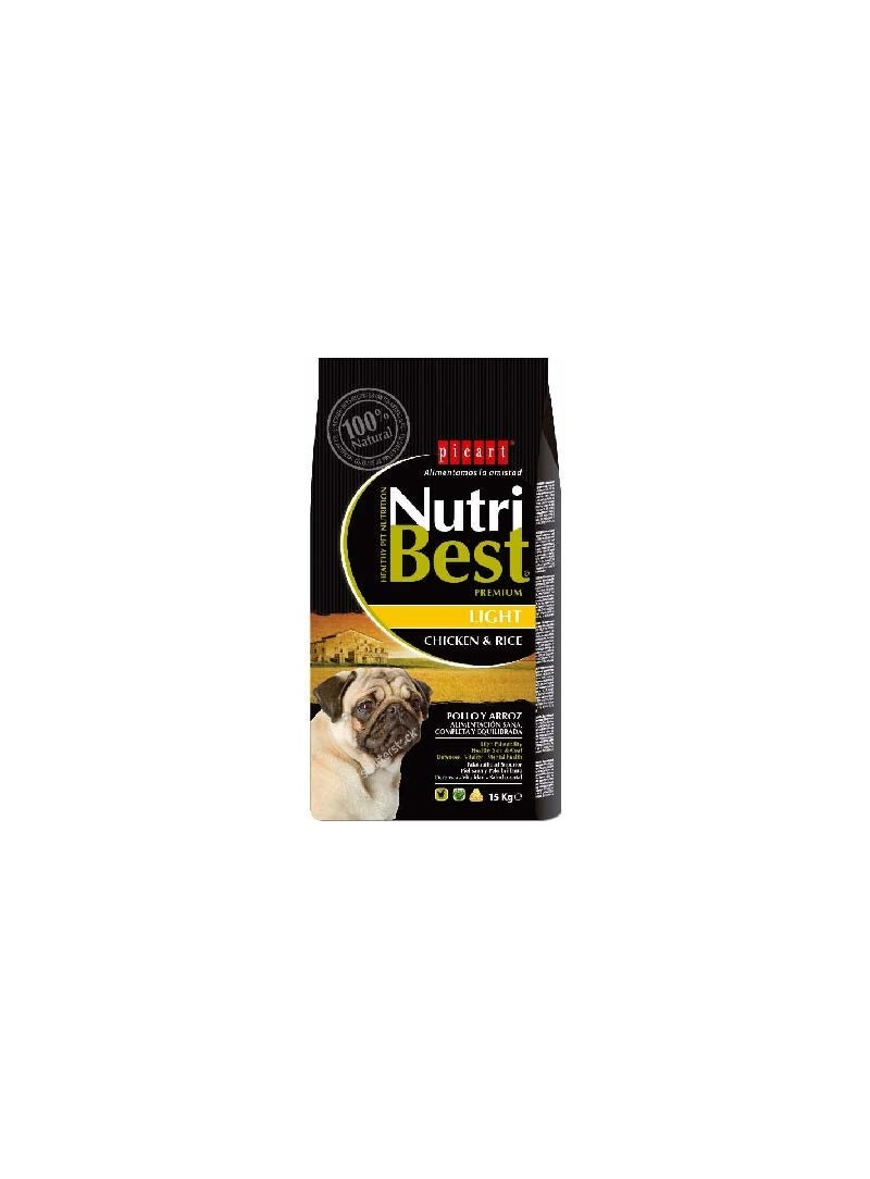Picart Nutribest Light Chicken & Rice Canine-NUTBLCR3