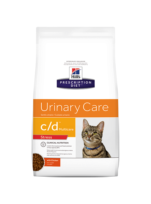 Hill's c/d Urinary Stress Feline-HICDURIS4