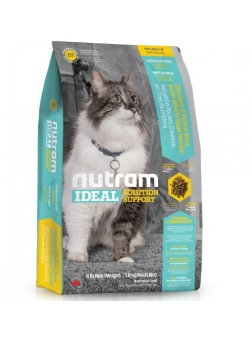 Nutram | Ideal Indoor Sheeding Feline