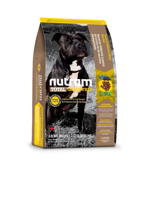 Nutram | T25 Total Grain Free Trout & Salmon Dog-NTT103