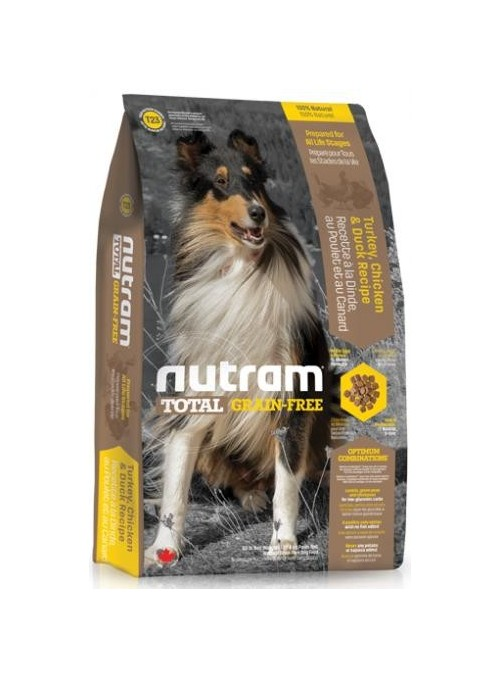 Nutram I Total Grain Free Turkey, Chicken & Duck