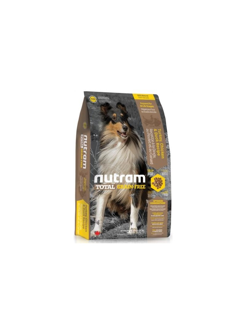 Nutram | T23 Total Grain Free Turkey, Chicken & Duck Dog-NTT101