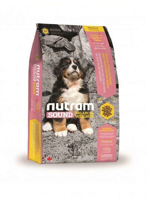 Nutram | S3 Sound Balanced Large Breed Puppy-NTS102
