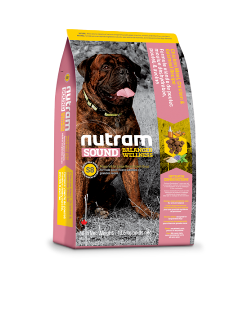 Nutram I S8 Sound Balanced Large Breed Adult Dog-NTS106