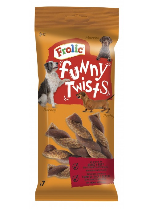 Frolic | Snack Funny Twists
