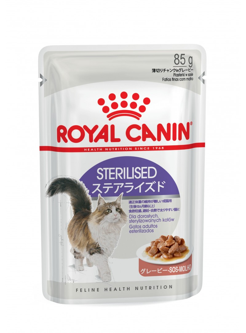 Royal Canin Sterilised - Gravy-RCSTER12