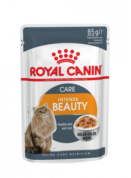 Royal Canin Intense Beauty - Jelly-RCIBJE85G