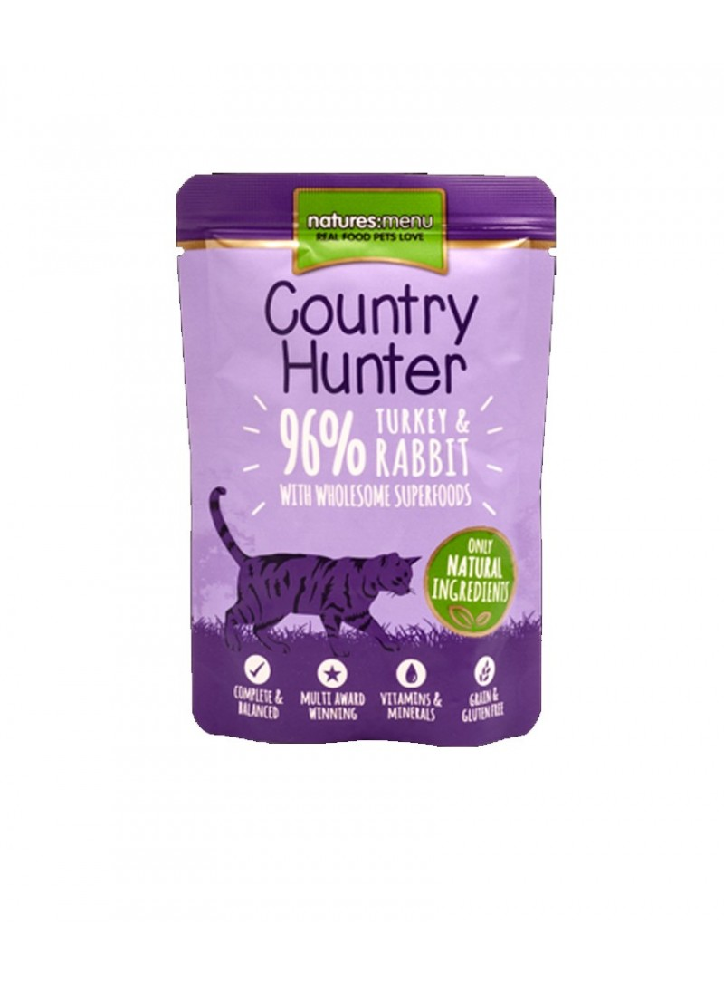 Natures Menu Country Hunter Cat | Saqueta-NMA1200 (4)