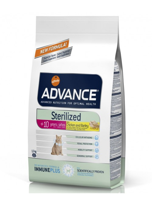 Advance Cat Sterilised +10 Chicken/Barley