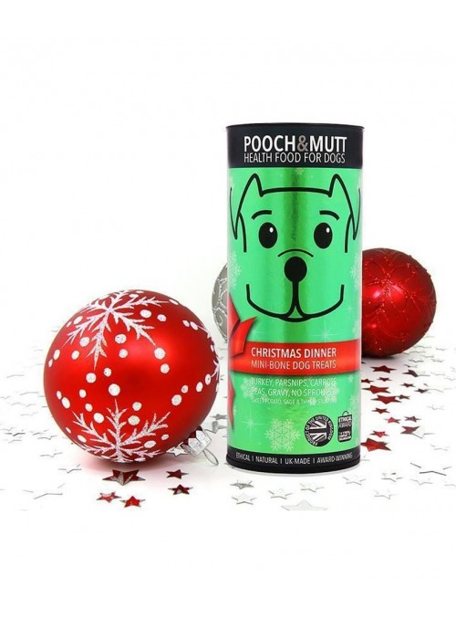 Pooch & Mutt Tubo Xmas Dinner (Edição Especial Natal)-PMXMASDIN
