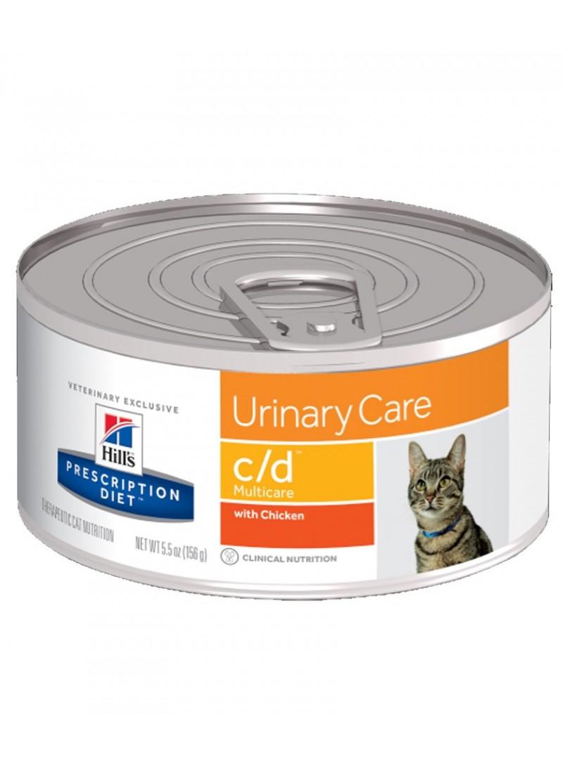 Hill's C/D Multicare Chicken Cat | Lata-HIFCDP