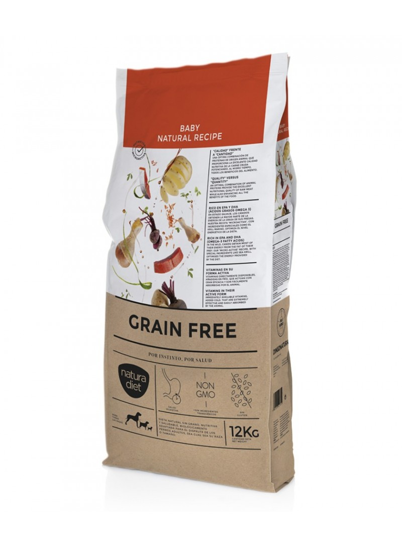 Natura Diet Grain Free Baby Dog-NDGFB168