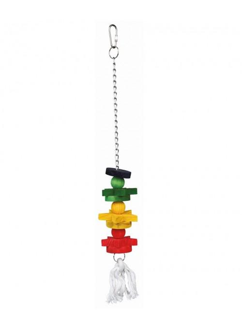 Trixie Brinquedo Colorido de Madeira-BCTX5195