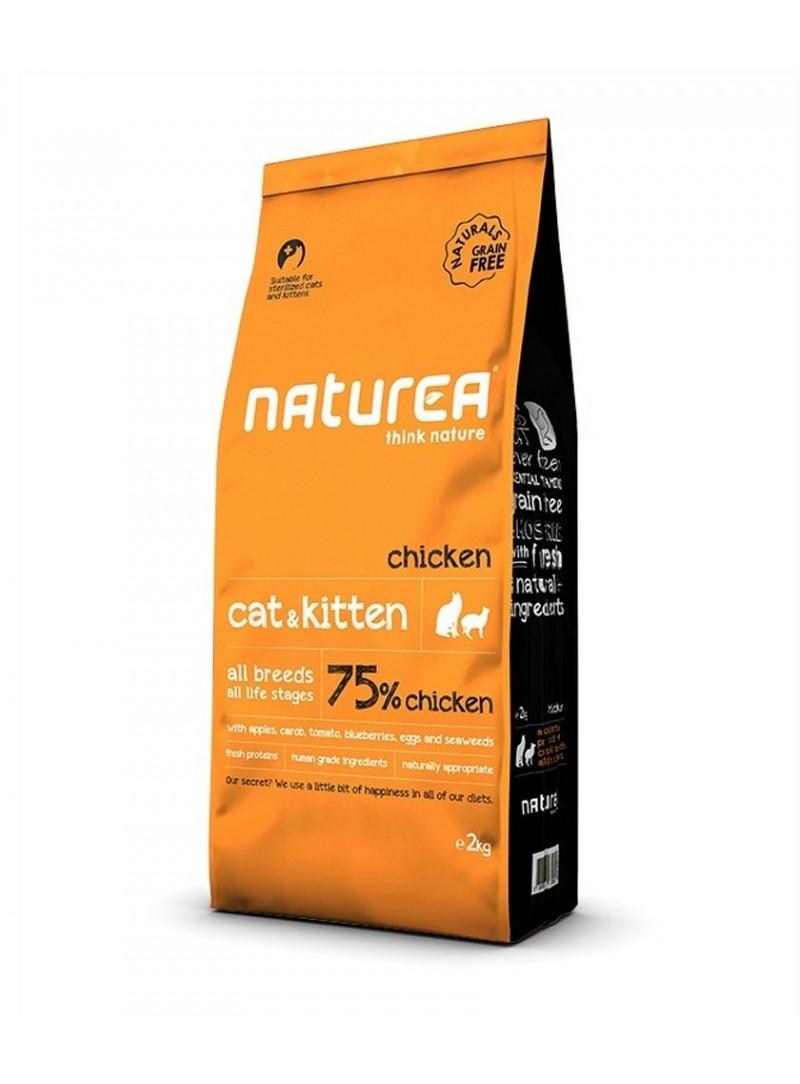 Naturea Cat & Kitten Chicken-NNNR078