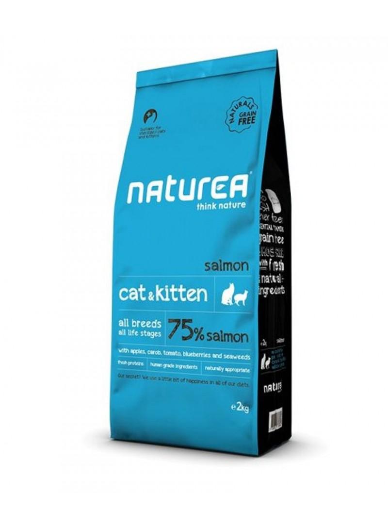 Naturea Cat & Kitten Salmon-NNNR080