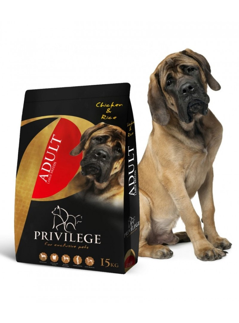 Privilege Dog Adult Large Breed Chicken & Rice-PR0704