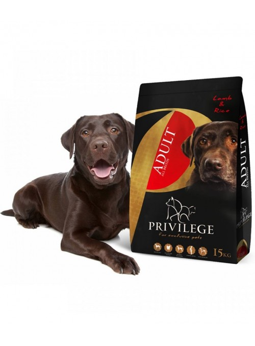 Privilege Dog Adult All Breeds Lamb & Rice-PR0710