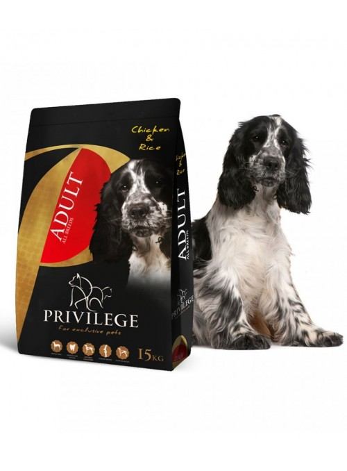 Privilege Dog Adult All Breeds Chicken & Rice-PR0708