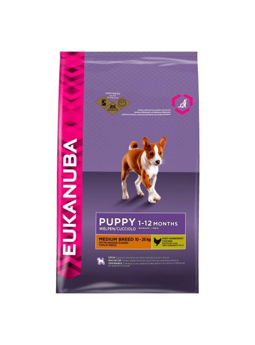 Eukanuba Puppy&Junior Raças Medianas-EUKPRM03
