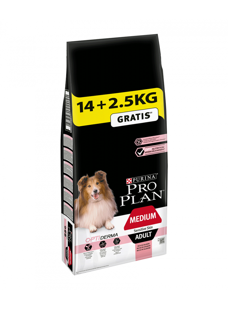 Pro Plan Medium Adult Sensitive Skin Promoção-PP12272392
