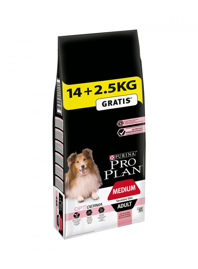 Pro Plan Medium Adult Sensitive Skin Promoção-PP12272392
