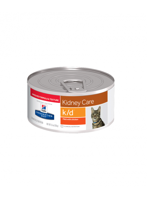 Hill's Cat  K/D Kidney Care Chicken  |  Lata-RACFEKD156G