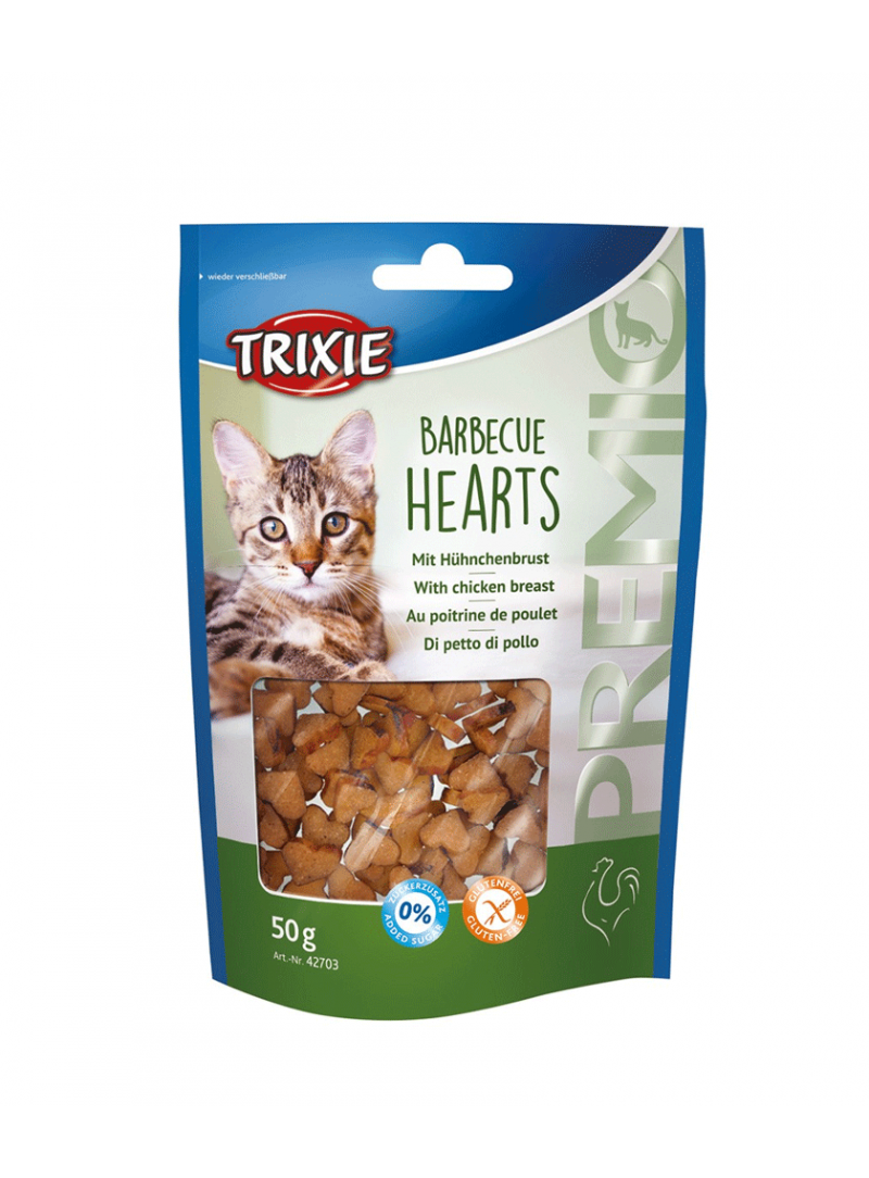 "Trixie Cat Snack ""Premio"" Barbecue Hearts-TX42703 (2)"