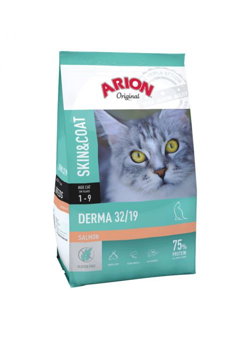 Arion Original Cat Derma Salmon