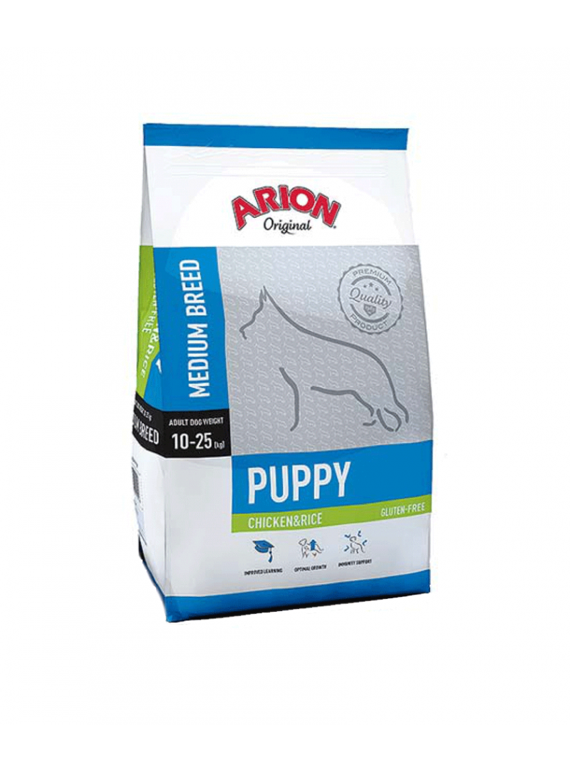 Arion Original Puppy Medium Breed Chicken-F04403